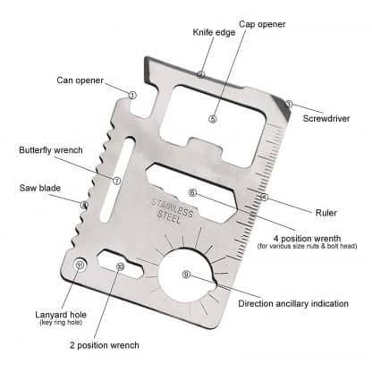 Wallet Size Multi Tool