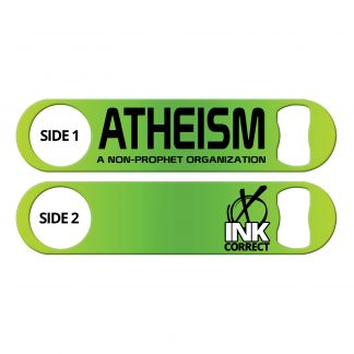 Atheism A Non-Prophet Organization Funny Flat Speed Opener
