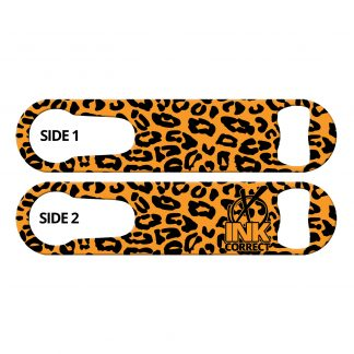 Cheetah Pattern Flat PSR Bottle Opener