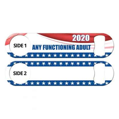 Functioning Adult Elections 2020 Flat Speed Opener