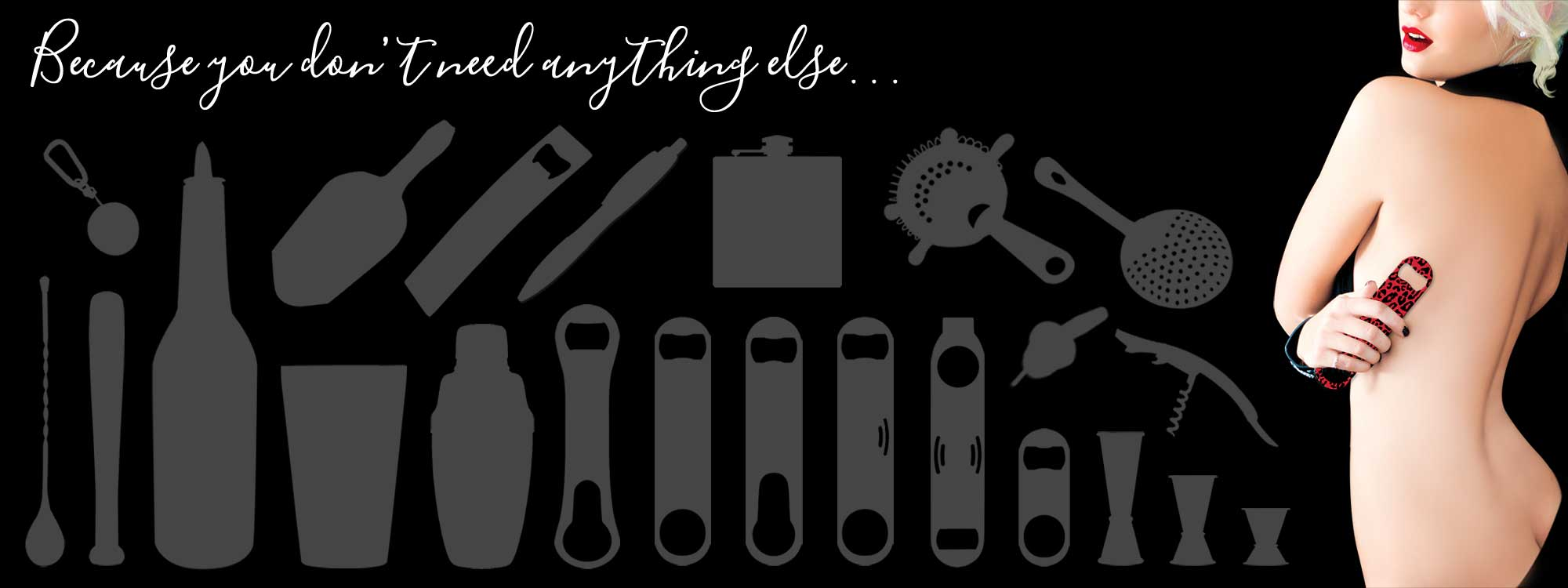 Ink Correct Bartender Bottle Openers and Bar Gear