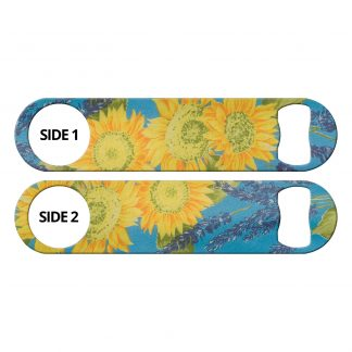 Sunflowers Blue Flat Speed Opener