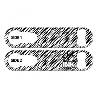 Tiger Pattern Flat PSR Bottle Opener