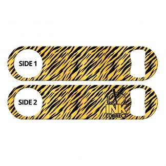 Tiger Print Flat Speed Opener