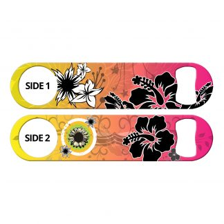Tropical Flowers Flat Speed Opener