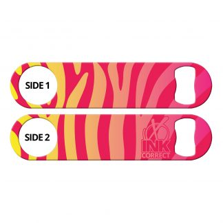 Zebra Glam Sunrise Flat Speed Opener
