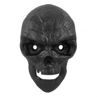 Black Skull Stationary Cast Iron Wall Mounted Bottle Opener