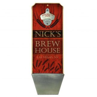 Brew House Customizable Wall Mounted Bottle Opener