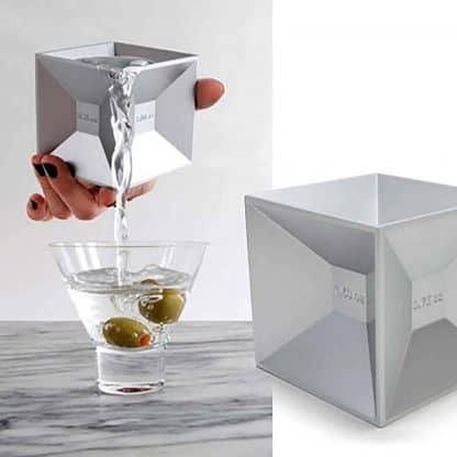 Cube Shaped Cocktail Jigger
