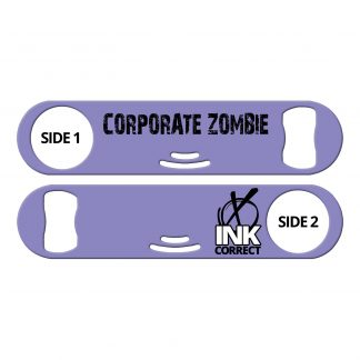 Corporate Zombie Flat Strainer Bottle Opener