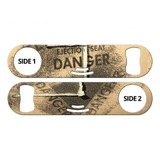 Danger Tan Flat Strainer Bottle Opener