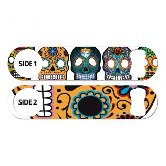 Day of the Dead Sugar Skulls Flat Speed Opener