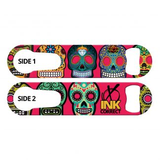 Day of the Dead Sugar Skulls Bar Key With Built-In Pour Spout Remover