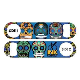 Day of the Dead I Sugar Skulls Flat Strainer Bottle Opener