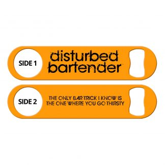Disturbed Bartender Bar Tricks Flat Speed Opener