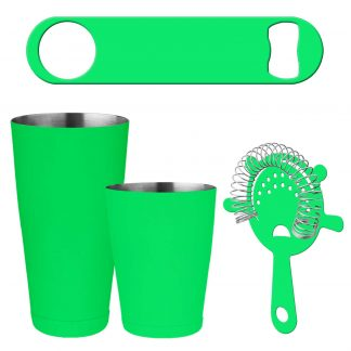 Neon Green 4-Piece Bartender Kit