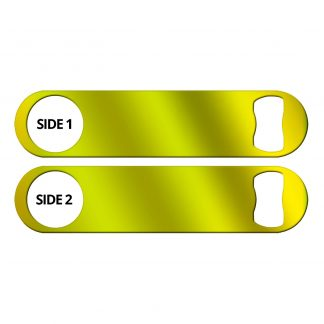 Metallic Neon Yellow Naked Speed Opener