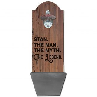 Man Myth Legend Customizable Wall Mounted Bottle Opener