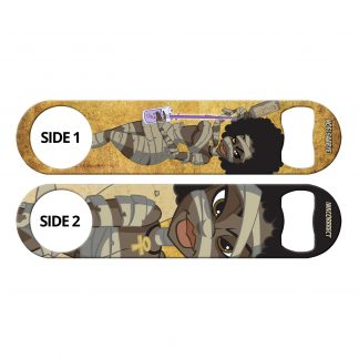 Mummy Mix Flat Speed Bottle Opener by Professional Artist Noel Saabye