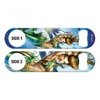 Siren's Call Flat Speed Bottle Opener by Professional Artist Jamie Tyndall