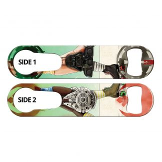 Skate Wars 2-in-1 Multi Purpose Bottle Opener by Professional Artist Keith P. Rein