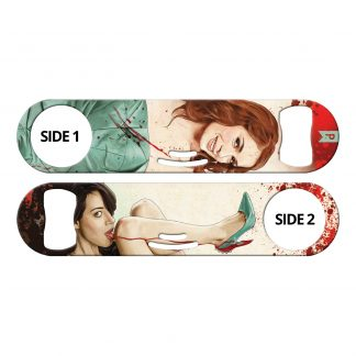 Slaughterhouse Starlets 3-in-1 Multi Purpose Bottle Opener by Professional Artist Keith P. Rein