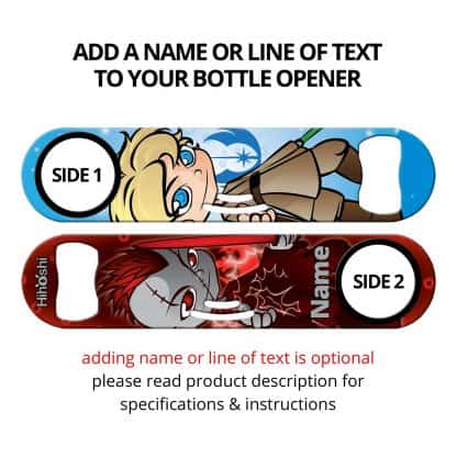 The Force Commissioned Art Strainer Bottle Opener With Personalization