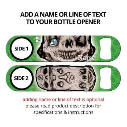 Totem Pole Commissioned Art Flat Speed Opener With Personalization