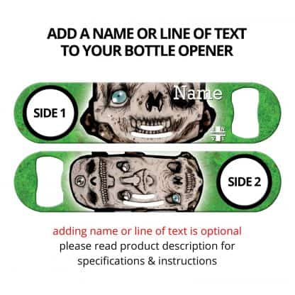 Totem Pole Commissioned Art Strainer Bottle Opener With Personalization