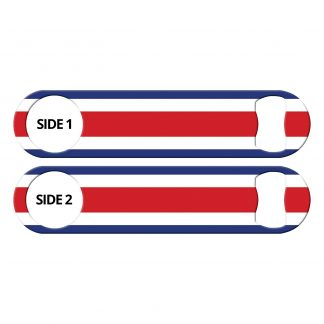 Classic Flag Costa Rican Flat Bottle Opener