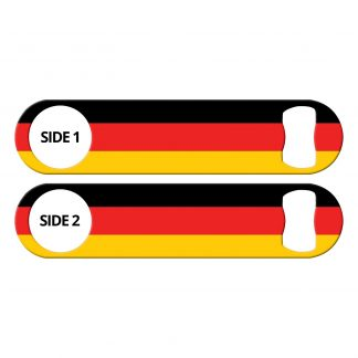 Classic German Flag Flat Bottle Opener