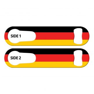 Classic German Flag PSR Bottle Opener