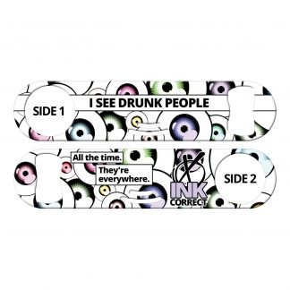 I See Drunk People Strainer Bottle Opener