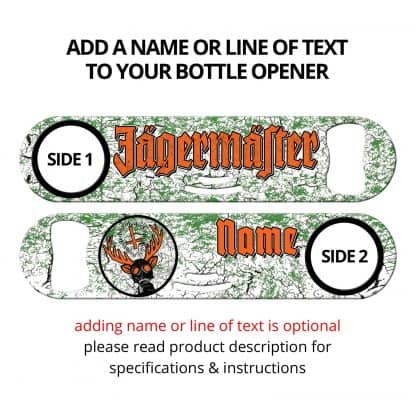 Jager Strainer Bar Blade with Personalization