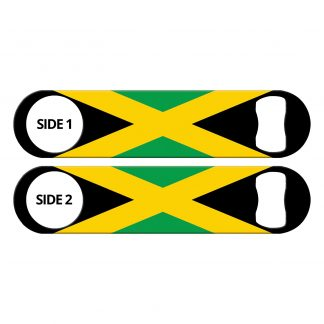Classic Jamaican Flag Flat Bottle Opener