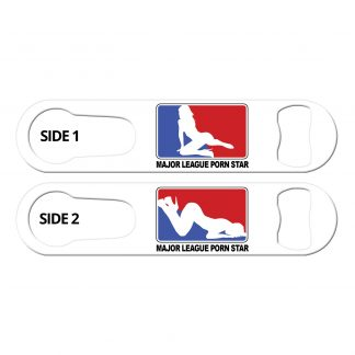 Major League Porn Star PSR Bartender Bottle Opener