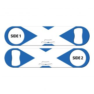 Classic Scottish Flag Strainer Bottle Opener