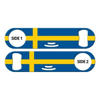 Classic Swedish Flag Strainer Bottle Opener